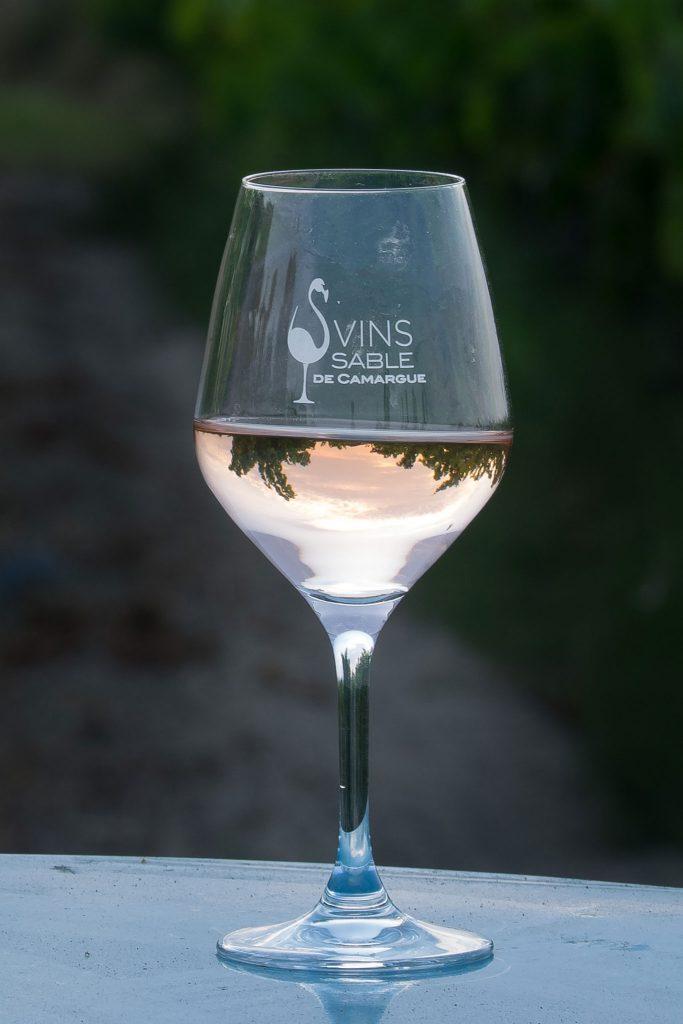 Verre vin pale ret